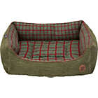 more details on Petface Hampton Cord Large Pet Bed - Green.