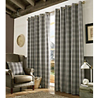 Archie Slate Curtains - 229cm x 183cm