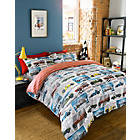more details on Hashtag Bedding Speedway Duvet Cover Set - Double.