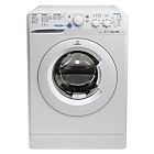 more details on Indesit XWC81483XW 8KG 1400 Washing Machine - Ins/Del/Rec.