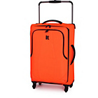 more details on IT Luggage World's Lightest Medium 4 Wheel Suitcase - Red.