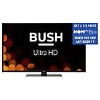 more details on Bush 58in UHD HDMI 2 0 LED TV