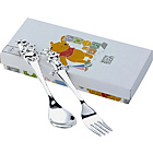 more details on Winnie the Pooh Silver Plated Fork and Spoon Set.
