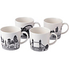 more details on Royal Doulton London City Scape Mugs Set of 4.