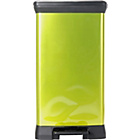 more details on ColourMatch 50L Pedal Bin - Apple Green.