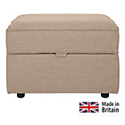 more details on Collection Ashdown Footstool with Storage - Taupe.