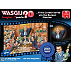more details on Wasgij Imagine Election Blue Jigsaw Puzzle - 1000 Piece.