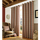 more details on Archie Red Curtains - 117cm x 229cm.