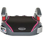 more details on Graco Basic Sport Booster Group 2-3 Car Seat - Pink.