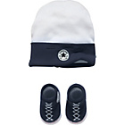more details on Converse Boys' Blue 2 Piece Gift Set - 0-6 Months.