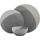 more details on Heart of House Dipped Earth 12 Piece Dinner Set - Grey.