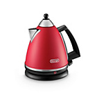 more details on Delonghi Argento Pyramid Red Kettle.