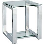 more details on Seattle End Table - Glass and Metal.