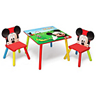 more details on Disney Mickey Mouse Table and Two Chairs.
