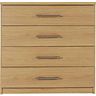 more details on HOME Normandy 4 Drawer Chest - Oak Effect.