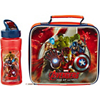 more details on Avengers Lunchbag and Bottle.