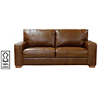 more details on Heart of House Eton Large Leather Sofa - Tan.