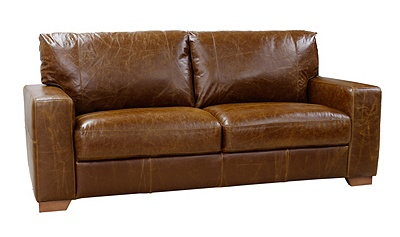 Buy Heart Of House Eton 3 Seater Leather Sofa Tan At