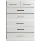more details on Normandy 5+2 Drawer Chest - White.