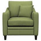 more details on Heart of House Newbury Fabric Check Chair - Olive.