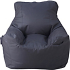 more details on Large Polyester Teenagers Beanbag - Black.