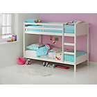 more details on Leila White Single Bunk Bed Frame with Bibby Mattress.
