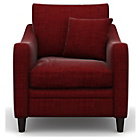 more details on Heart of House Newbury Fabric Chair - Wine.