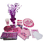 more details on Glitz Party Pack For 32 - Pink.