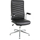 Martinez Executive Height Adjustable Office Chair - Black