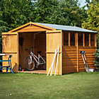 Homewood Wooden Overlap Shed - 10 x 8ft.