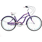 more details on Mizani Flyer 3 17 Inch Beach Cruiser Bike - Womens'.