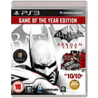 more details on Batman Arkham City PS3 Game.