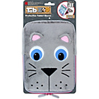 more details on Tab Zoo 10 inch Cat Tablet Sleeve - Grey.