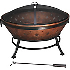 more details on Grill King 89cm Round Fire Pit.
