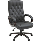 more details on Heart of House Button Traditional Office Chair - Black.