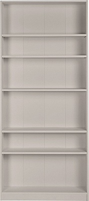 buy home maine wide bookcase putty at argos co uk
