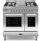 more details on Britannia RC-9TG-QL-S 90cm Dual Fuel Range Cooker - SSteel.