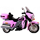 more details on Chopper Cruiser Style Ride On Bike - Pink.
