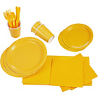 more details on Solid Colour Party Kit - Yellow.