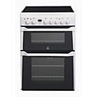 more details on Indesit ID60C2W Double Electric Cooker - White/Exp Del.