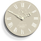 more details on Jones Darwin Wall Clock 30cm - Beige.