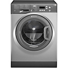 more details on Hotpoint WMAQF721G 7KG 1200 Spin Washing Machine - Graphite.