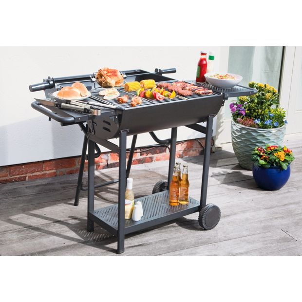 buy deluxe lovo premium charcoal party barbecue with. Black Bedroom Furniture Sets. Home Design Ideas