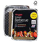 more details on Bar-Be-Quick Twin Pack Instant Charcoal BBQ.