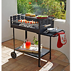 more details on Deluxe Rectangle Steel Party Charcoal BBQ.