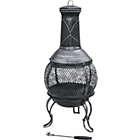 more details on Mini Steel with Cast Iron Finish Chiminea.