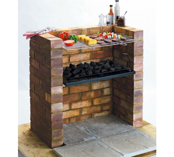 Buy Built-in Charcoal BBQ at Argos.co.uk - Your Online ...
