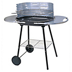 more details on Oval Steel Trolley Charcoal BBQ.