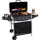 more details on 4 Burner Gas BBQ with Side Burner.