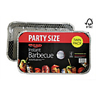 more details on Bar-Be-Quick Disposable Party Charcoal BBQ - Twin Pack.